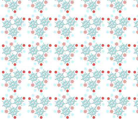 LetItSnow fabric by curlywillowco on Spoonflower - custom fabric