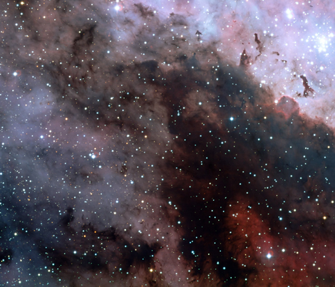 The-Great-Carina-Nebula fabric by tingish on Spoonflower - custom fabric