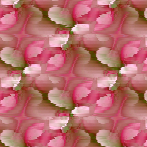 Rippled Rosebuds 10.5x9 fabric by missourah_gal on Spoonflower - custom fabric