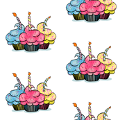 Birthday Cup Cakes
