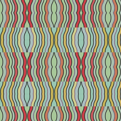 Arterial Coloris (Mint) fabric by david_kent_collections on Spoonflower - custom fabric