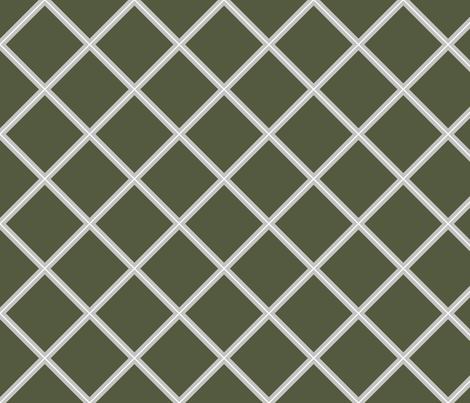 Stem Trellis fabric by themagpiecat on Spoonflower - custom fabric