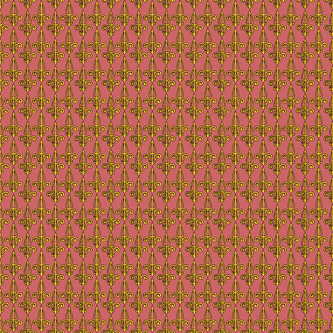 fleurdelis-pjr_gilded fabric by glimmericks on Spoonflower - custom fabric