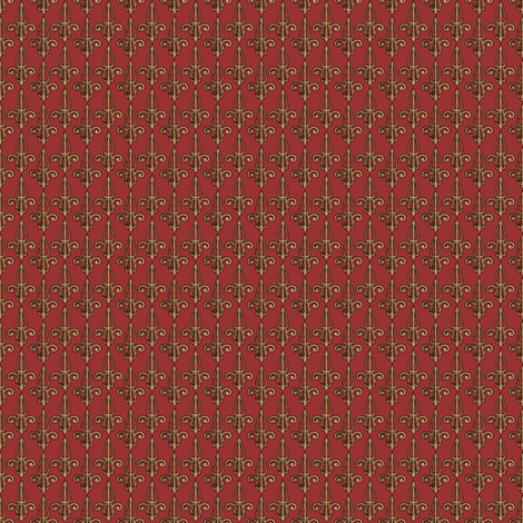 fleurdelis-pjr_rustyduck fabric by glimmericks on Spoonflower - custom fabric