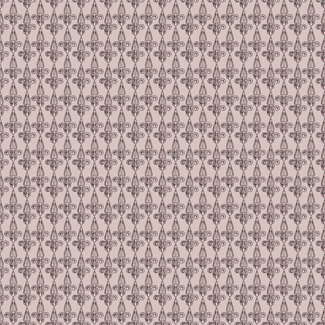 fleurdelis-pjr_pink elephant fabric by glimmericks on Spoonflower - custom fabric