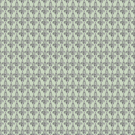 fleurdelis-pjr_powder_room fabric by glimmericks on Spoonflower - custom fabric