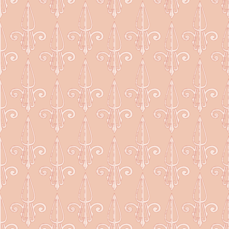 fleurdelis-pjr_shell 2 fabric by glimmericks on Spoonflower - custom fabric