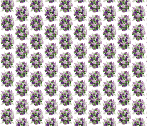 LILAC BOQUET fabric by bluevelvet on Spoonflower - custom fabric