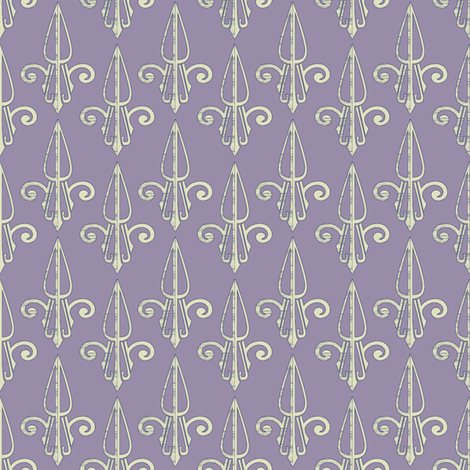 fleurdelis-pjr_lilac2 fabric by glimmericks on Spoonflower - custom fabric