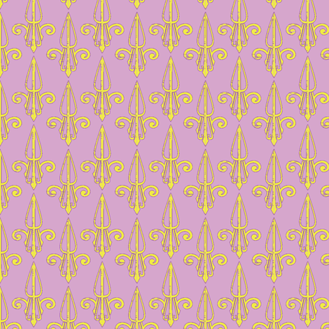 fleurdelis-pjr_spring2 fabric by glimmericks on Spoonflower - custom fabric