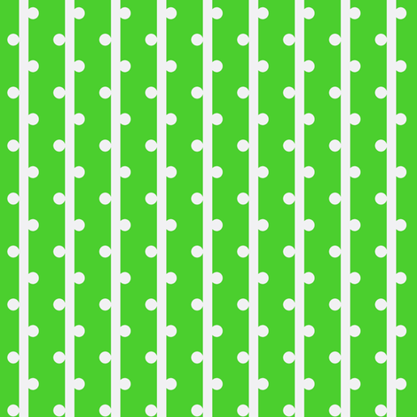 grab your pompoms (grass) ©2012 Jill Bull fabric by fabricfarmer_by_jill_bull on Spoonflower - custom fabric