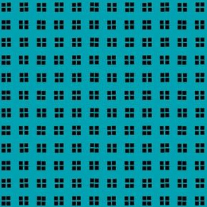 block print turquoise