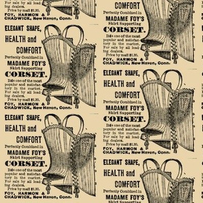 1918 ad Madame Foy's Corset For Health & Comfort