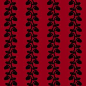 gooseneck lamp vine carmine