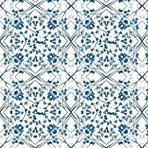 blue leaf lattice