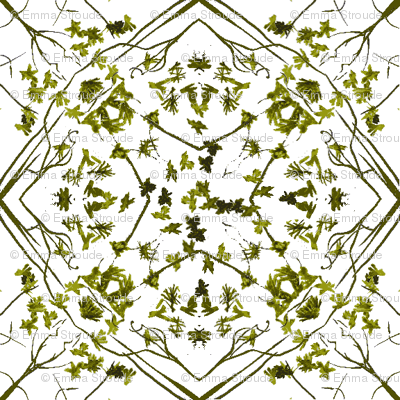 moss leaf lattice