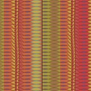Leaf Row (Reds)