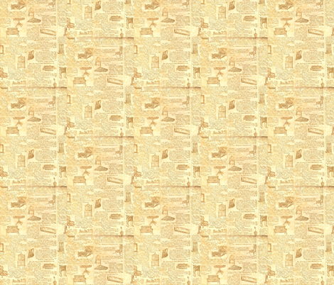 old news paper fabric by krs_expressions on Spoonflower - custom fabric