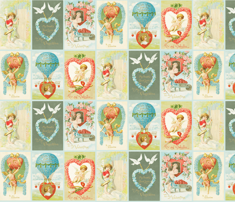 valentines fabric by natasha_k_ on Spoonflower - custom fabric