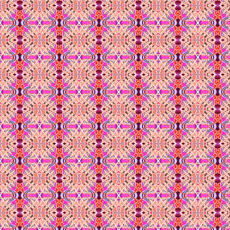 Barbed Wire Barbie fabric by edsel2084 on Spoonflower - custom fabric