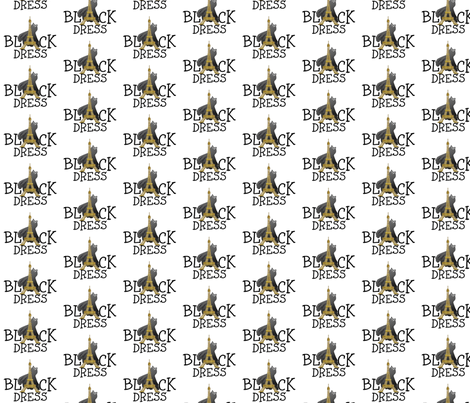 LITTLE BLACK DRESS fabric by bluevelvet on Spoonflower - custom fabric