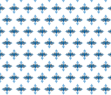 GOTHIC CROSS fabric by bluevelvet on Spoonflower - custom fabric