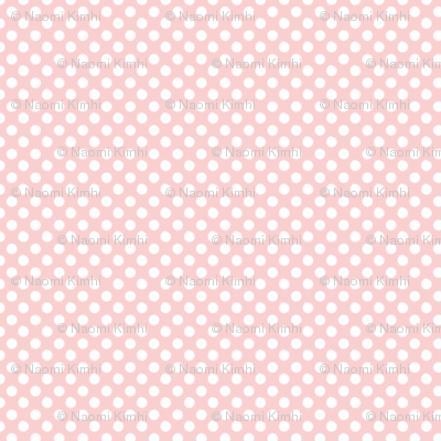 Baby Pink Polka Dots 