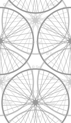 the Wheels on the bike ...