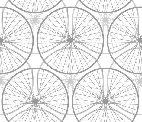 the Wheels on the bike ... fabric by sef on Spoonflower - custom fabric