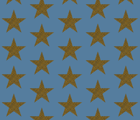 cinema burlap Star fabric by paragonstudios on Spoonflower - custom fabric