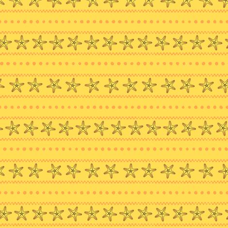Bonaire Baby - Starfish Stripe