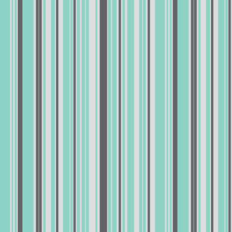 go_fish_stripe_multi-ch fabric by fabricfarmer_by_jill_bull on Spoonflower - custom fabric