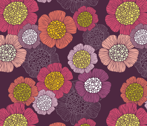Reverie fabric by valentinaramos on Spoonflower - custom fabric