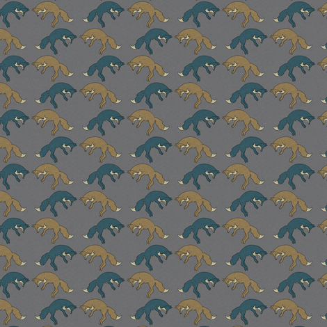 little_foxes_little_esop fabric by holli_zollinger on Spoonflower - custom fabric