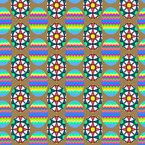 Eggys fabric by grannynan on Spoonflower - custom fabric