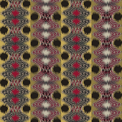 Woolen Red fabric by david_kent_collections on Spoonflower - custom fabric