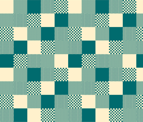 checkitout_farmhouse fabric by glimmericks on Spoonflower - custom fabric