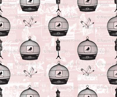 cage_birds_vintage_fabric_