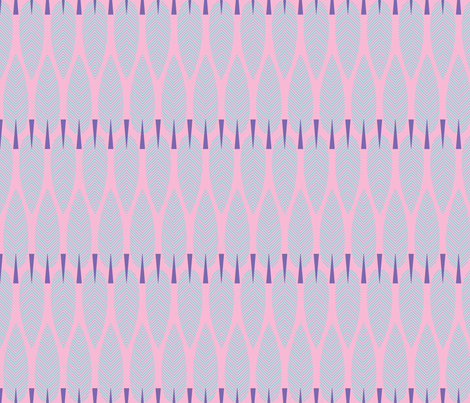 Chevron Trees - candy fabric by kayajoy on Spoonflower - custom fabric
