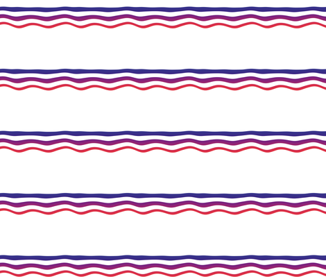Wavy Bands 3 fabric by animotaxis on Spoonflower - custom fabric