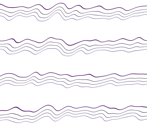 Wavy Bands 1 fabric by animotaxis on Spoonflower - custom fabric