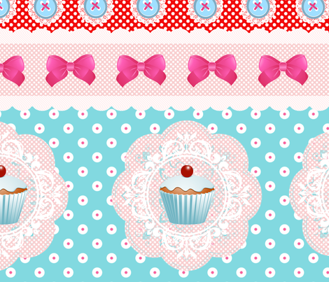 so_sweet_like_candy_ fabric by badiem on Spoonflower - custom fabric