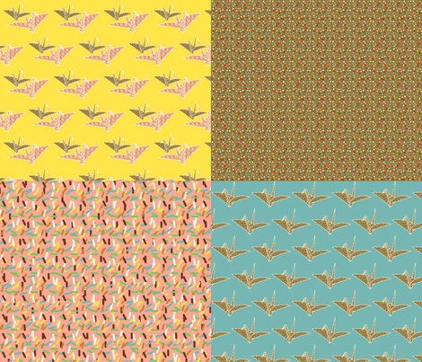 Blythe Fabric fabric by heidikenney on Spoonflower - custom fabric