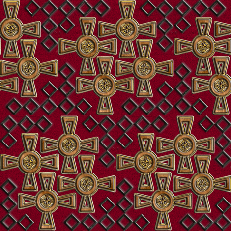 Celtic Puzzle fabric by eclectic_house on Spoonflower - custom fabric