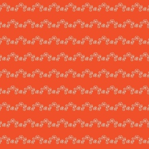Sea Stripe Tangerine