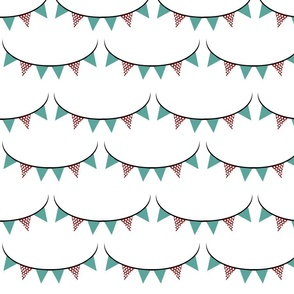 Large Scallop Banner