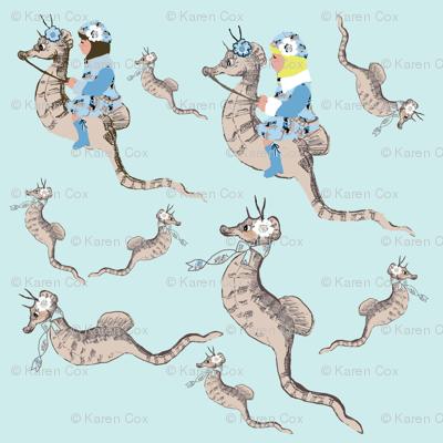 Seahorse Race