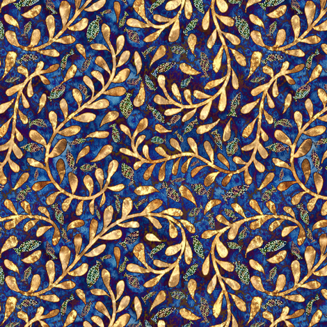 Kelp! Help!  fabric by vo_aka_virginiao on Spoonflower - custom fabric