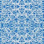 White rope on Bavarian blue