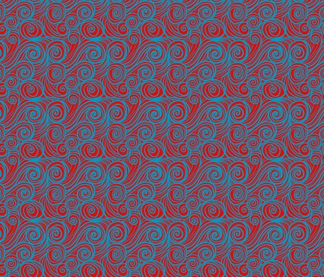 houle rouge fabric by nadja_petremand on Spoonflower - custom fabric